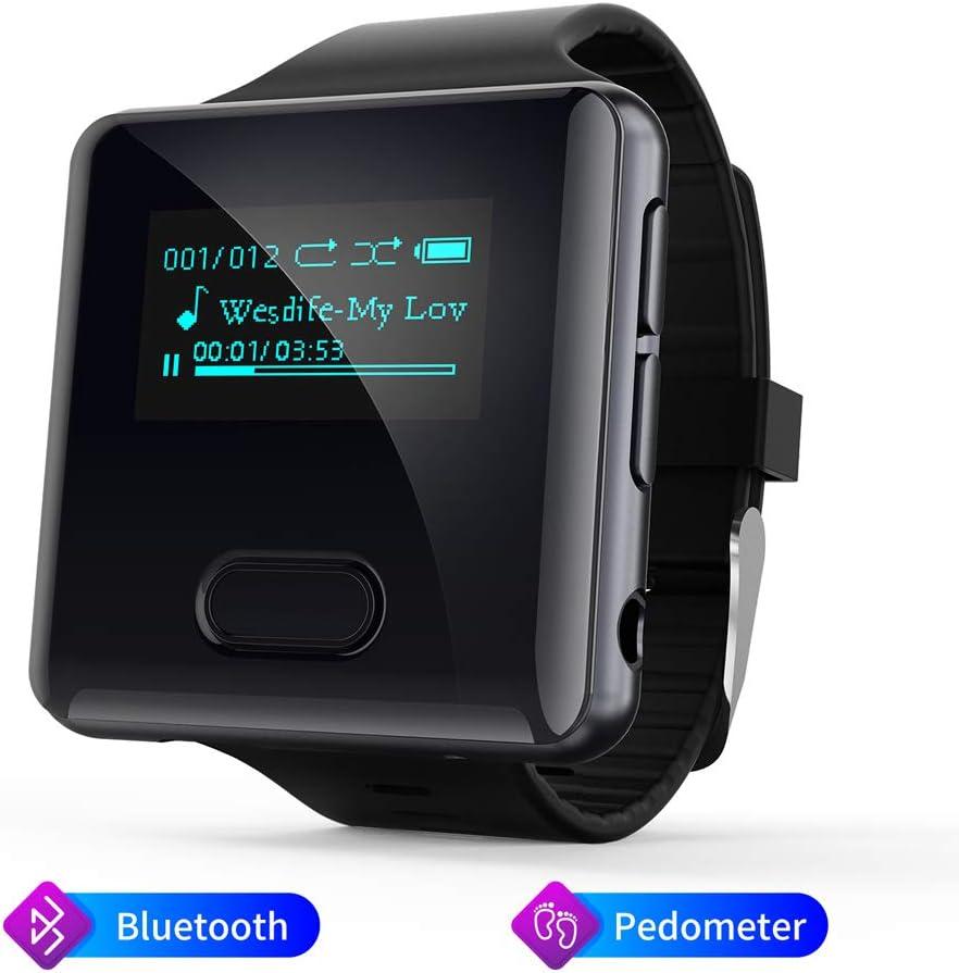 MP3 Player, 16GB Clip Bluetooth MP3 Player mit Schrittzähler FM Radio Sprachaufzeichnung❗