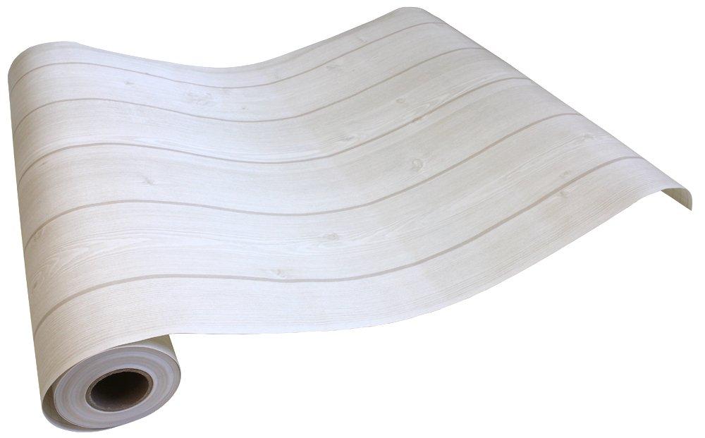 はがせるシール壁紙 賃貸OK 50cm幅 Hyundae Sheet 木目 ウッド デザイン カフェ風(30mパック, 1●HWN-22316 ホワイトベージュ) B00UYOBHRM 30mパック|HWN-22316 ホワイトベージュ