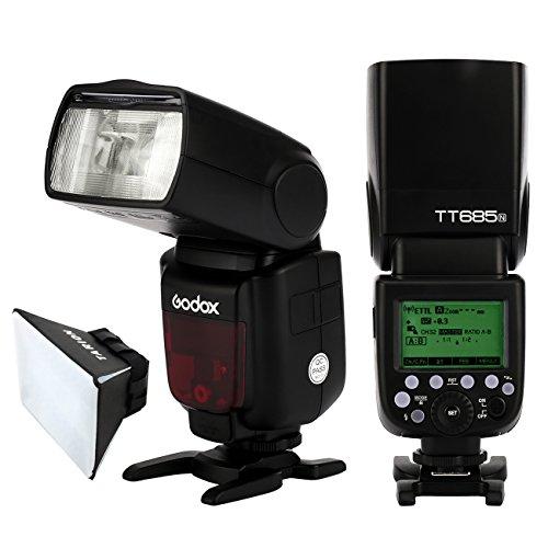 GODOX カメラフラッシュ スピードライト ストロボ 2 4G無線ラジオシステムサポート TT685-N i-TTLの商品画像