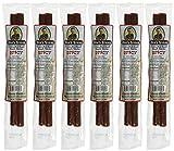 Nicks Sticks 100% Grass-Fed Beef Snack Sticks - Gluten Free - No Antibiotics or Hormones (6 packages of 2 sticks)