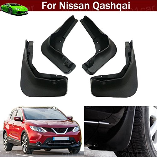 New 4pcs Mud Flap Splash Guard Fender Mudguard Mudflap For Nissan Qashqai 2014 2015 2016 2017 2018