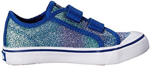 Blue Sneaker and Hook Loop Glittery Glitter Keds qIRxwXF7