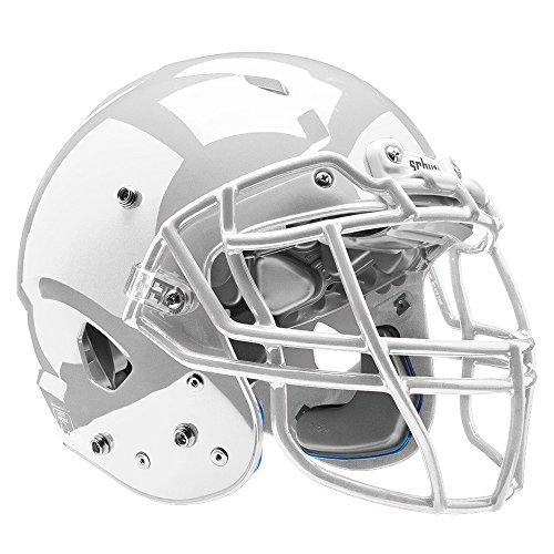 (Schutt Sports Vengeance VTD II Football Helmet Without Faceguard, White, Large)