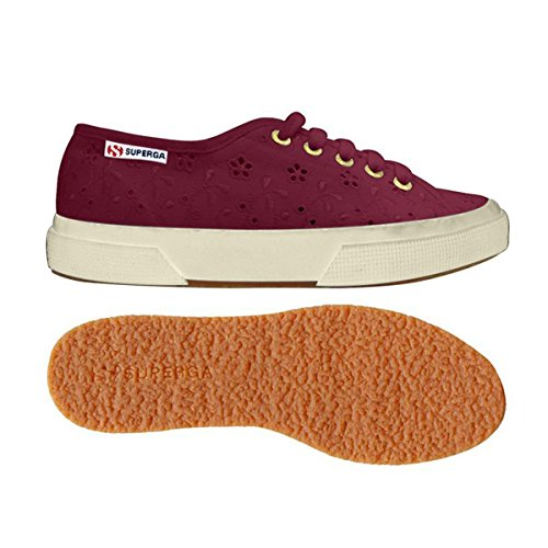 Le Superga - 2750-plus Sangallosatinw PRUNE