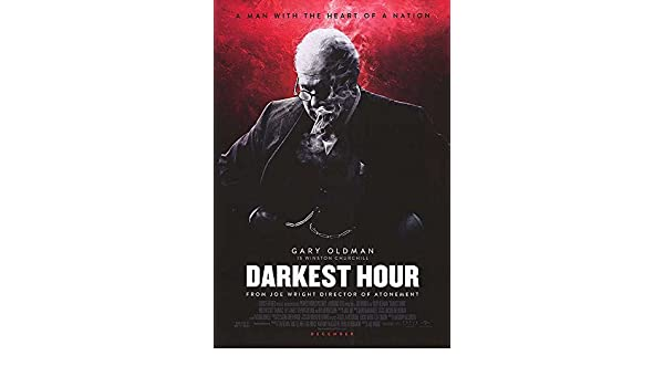Image result for the darkest hour poster amazon