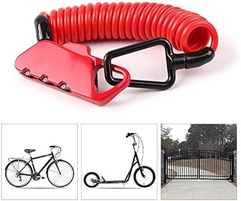 KuaiKeSport Candado Bicicleta Alta Seguridad,Bloqueo de Bicicleta ...