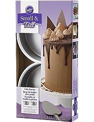 Wilton Small and Tall Cake Pan Set, 2-Piece