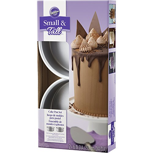 Wilton 2105-5636 2 Piece Small & Tall Layered Cake Pan