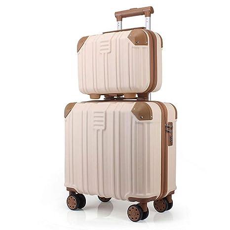 La maleta Traje de Dos Piezas Equipaje Trolley Tronco 16 ...
