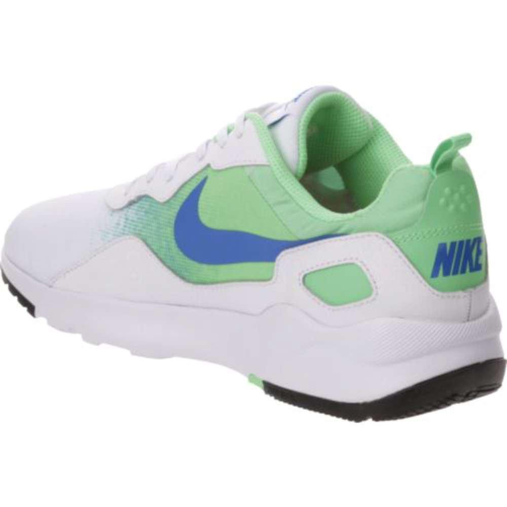 NIKE Women's LD Runner Lw Running Shoe B002KGOD3M 7.5 B(M) US|White / Soar - Electro Green