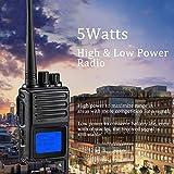 2 Way Radio Long Range 5 Watts High Power Walkie