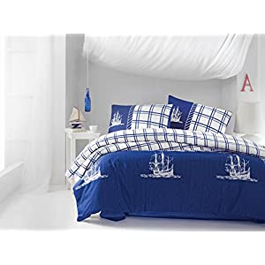 51h5hLXEULL._SS300_ 100+ Nautical Duvet Covers and Nautical Coverlets For 2020
