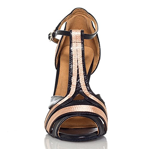 Yiteli Womens Latin Ballroom Dance Shoes Salsa Tango Open-Toe Sandals US5-11 vN1nwV73rA