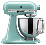 KitchenAid KSM150PSAQ Artisan Series 5-Qt. Stand Mixer with Pouring Shield – Aqua Sky Review