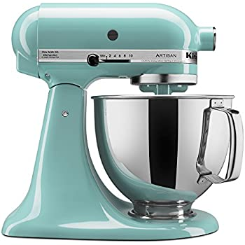 Nice KitchenAid KSM150PSAQ Artisan Series 5 Qt. Stand Mixer With Pouring Shield    Aqua Sky