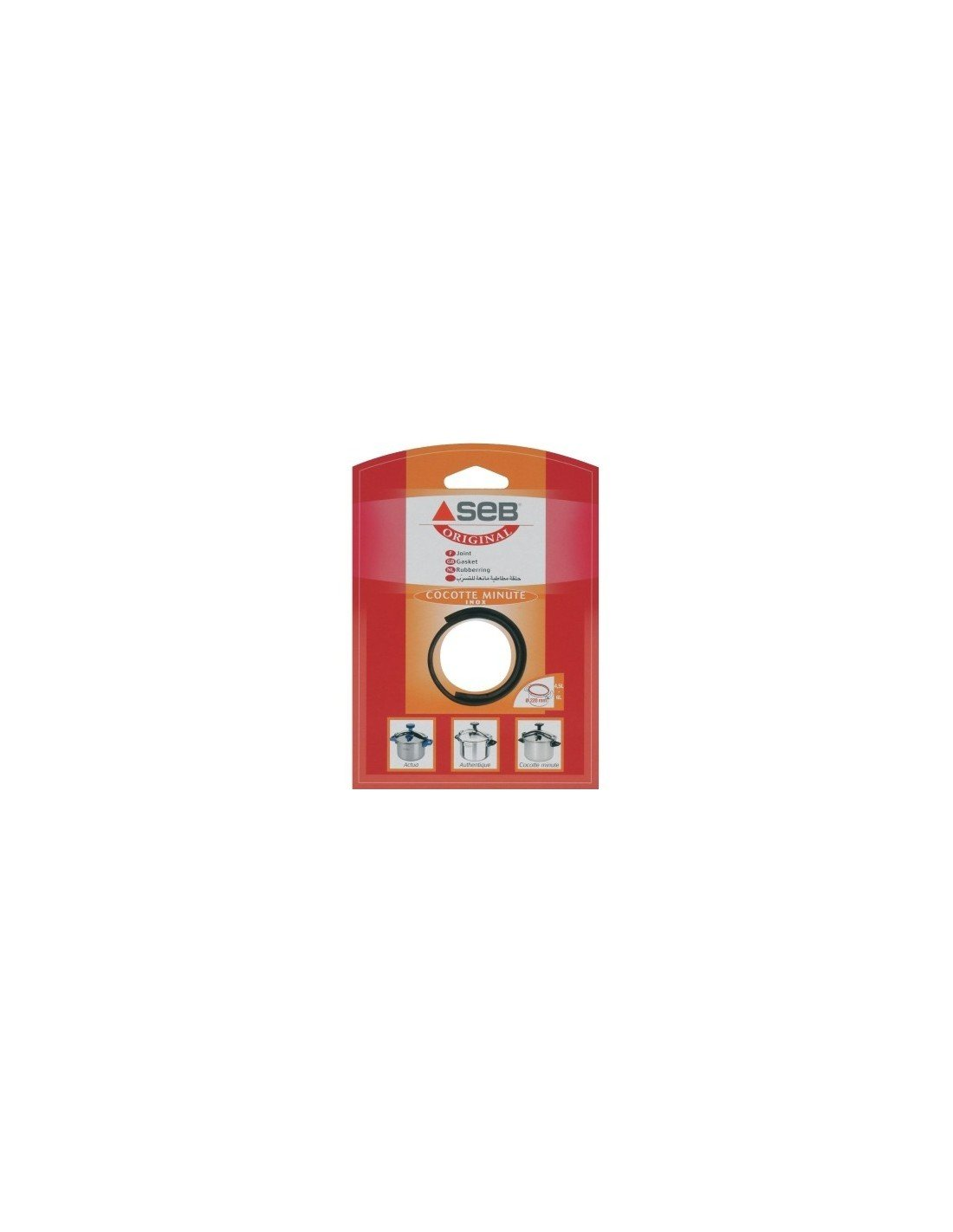 Seb 790141 joint pour cocotte minute 4.5/6 L diam.220 mm product image