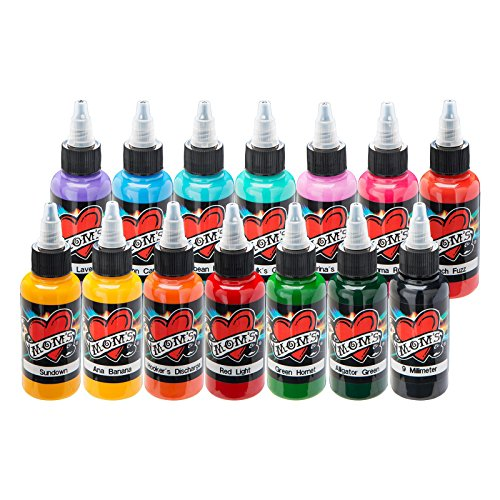 14 Millennium Moms PORTRAIT SET Tattoo Ink 1.5 1/2 oz LOT Mom's ()