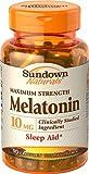 Sundown Melatonin 10 mg Capsules, 90 Count