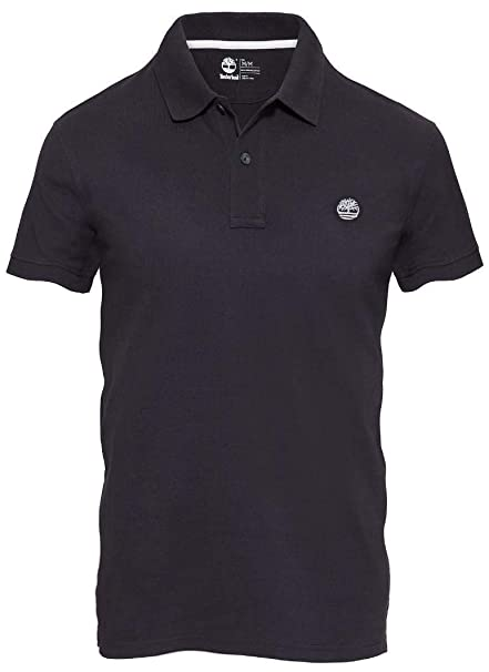 bbbe0d1dce Timberland SS Slim Millers River Polo Uomo Nera Slim Fit L: Amazon.es: Ropa  y accesorios