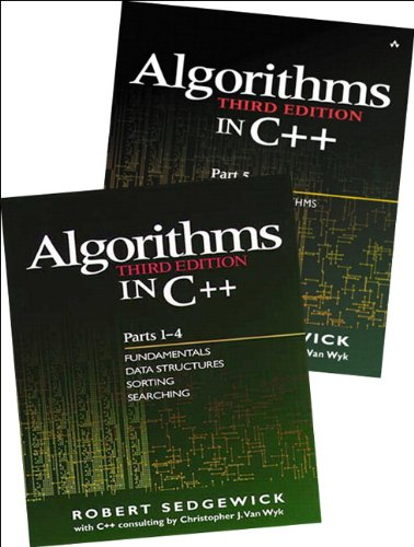 Bundle of Algorithms in C++,  Parts 1-5: Fundamentals, Data Structures, Sorting, Searching, and Graph Algorithms (3rd Edition) (Pts. 1-5) by Addison-Wesley Professional