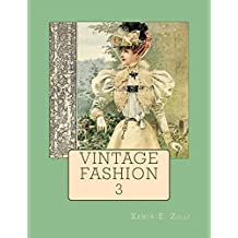 Vintage Fashion: Colouring Book 3