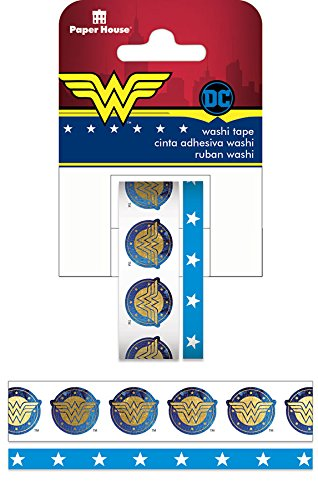 014c7259c Amazon.com  Paper House Productions Wonder Woman (2 Pack) Washi Tape ...