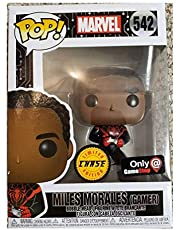 Funko Pop! Marvel Spider Man Gamer Miles Morales Unmasked Chase Exclusive