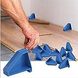 Flooring Spacers,Laminate Wood Flooring Tools(12 Pack),Compatible w/Vinyl Plank, Hardwood & Floating Floor Installation etc,H