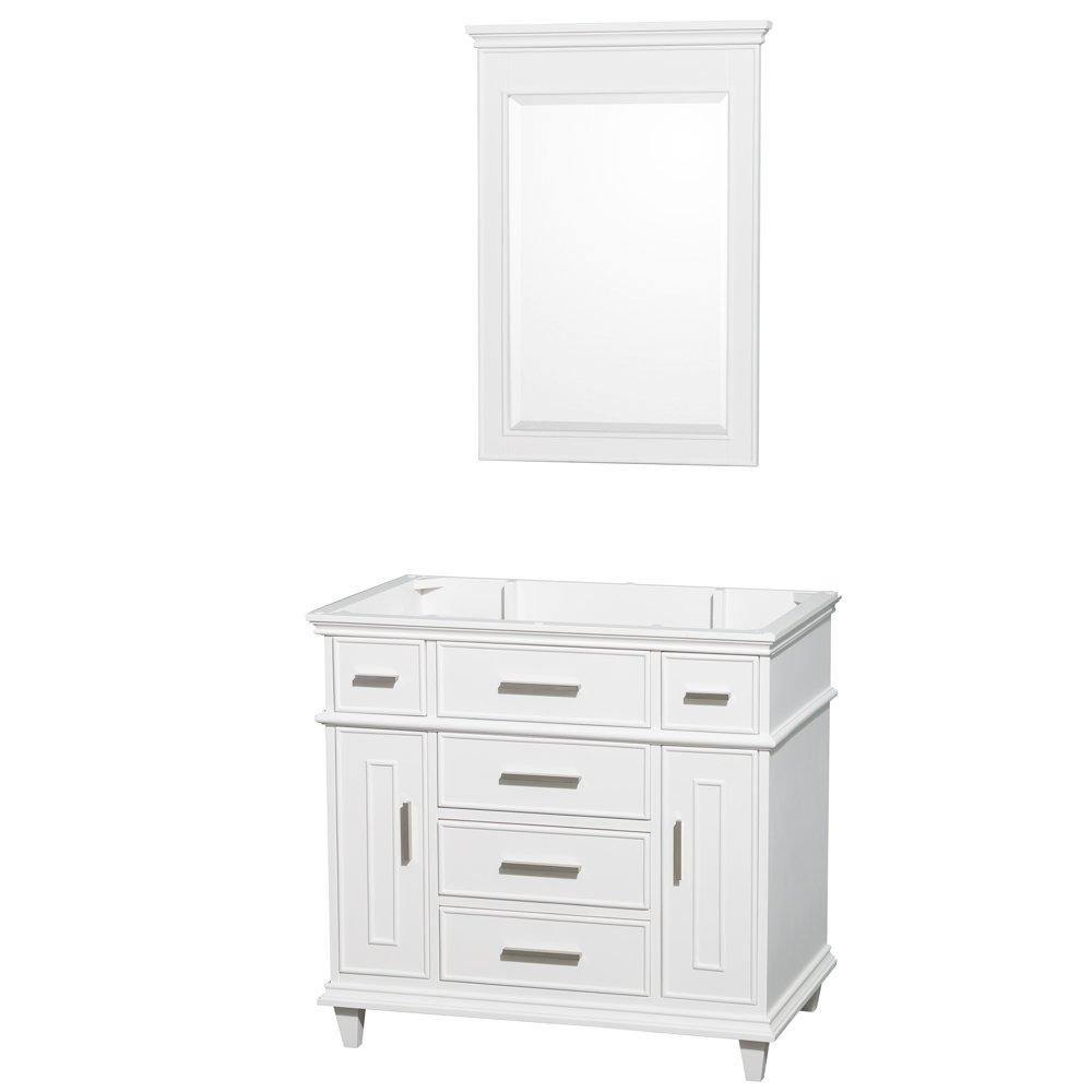 bailey white vanity single in set gloss bathroom virtu sets inch usa
