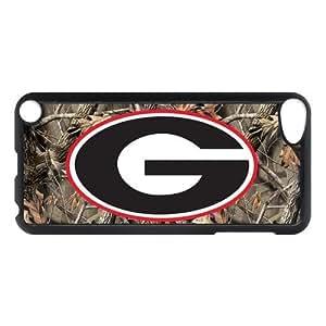 CTSLR ipod Touch 5 5th Generation Case - Customize Case for ipod Touch 5 5th Generation - Hard Plastic Back Case - NCAA Team Logo Georgia Bulldogs (15.33) - 11