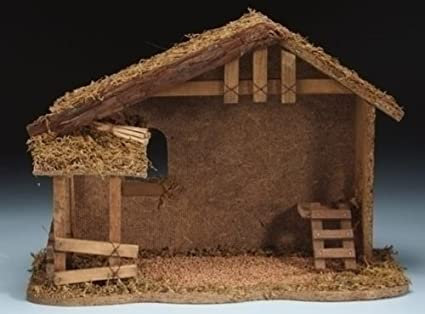Amazon Nativity Stable Fontanini