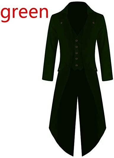 Overcoat Coat Outwear Cosplay Autumn Tops Vintage Plus size Steampunk Gothic