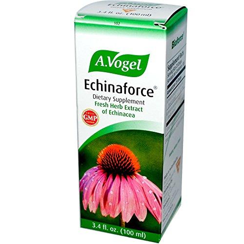 Echinaforce Echinacea (A Vogel, Echinaforce, Fresh Herb Extract of Echinacea, 3.4 fl oz (100 ml) - 2pc)