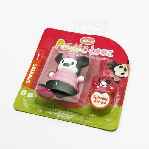 Disney Pook a Looz Series 1 Minnie Mouse Spinner Figurine