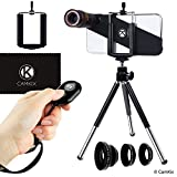 Lens and Shutter Remote Kit for Apple iPhone X - Incl. Bluetooth Camera