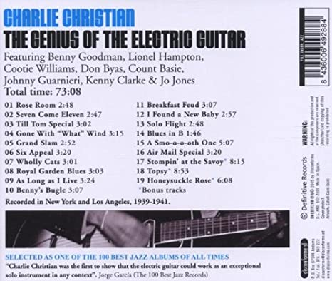 Charlie Christian - The Genius of the Electric Guitar - Amazon.com ...