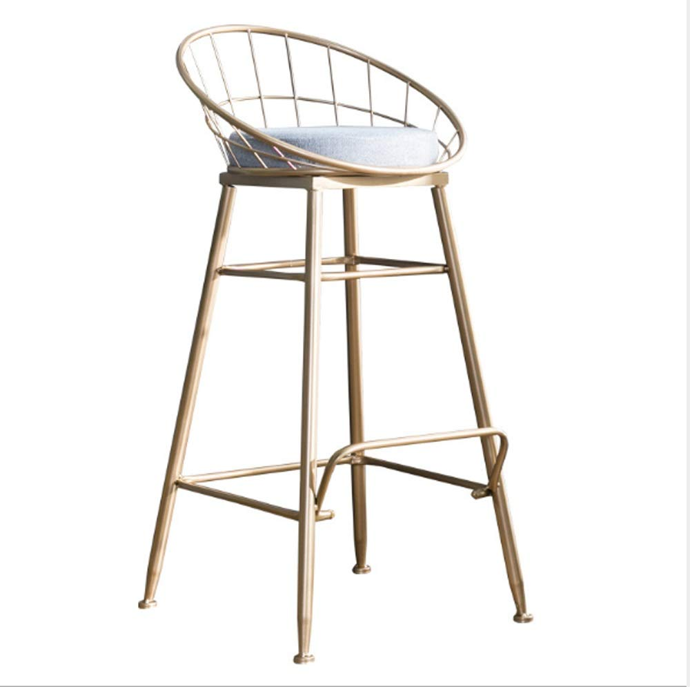 AO-stools Bar Chair Golden Home High Stool Bar Chair Size:95x75x48cm by AO (Image #1)