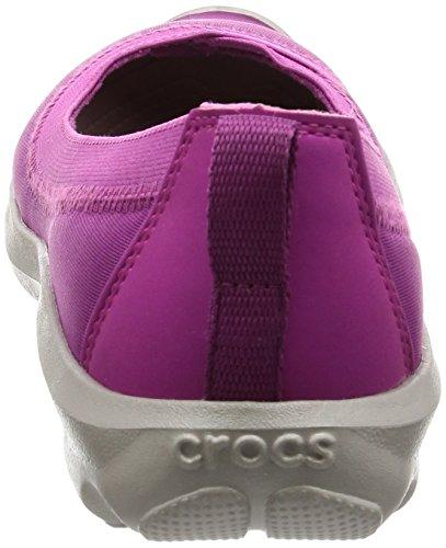 Crocs Damen Bsydaystrtchflt Ballerine Viola Vibrante