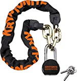 Cheap Kryptonite Messenger Bicycle Chain Lock with Moly Bike Padlock (100cm)