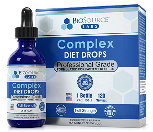 BioSource Labs Complex Diet Drops - Weight Loss Drops for Rapid and Lean Loss