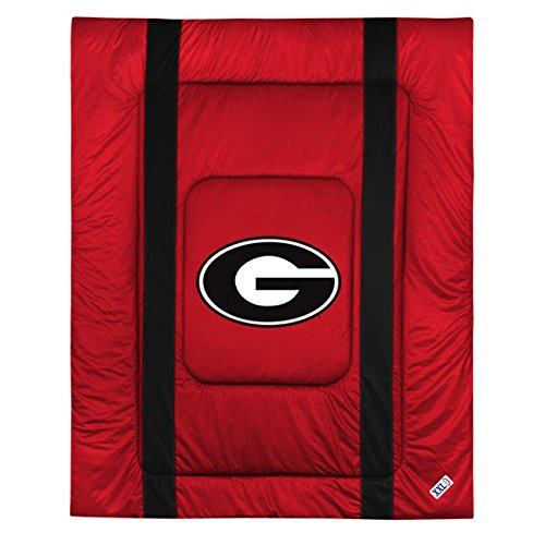 NCAA Georgia Bulldogs - 5pc BED IN A BAG - Queen Bedding Set by store51 (Image #2)