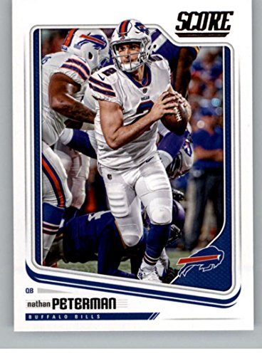 new product e5de3 81020 Amazon.com: 2018 Score #40 Nathan Peterman Buffalo Bills ...