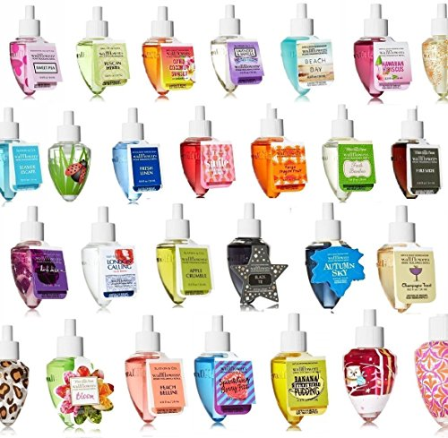 Bath & Body Works - Grab Bag Assorted Bundle of SIX (6) Wallflower Bulbs (Bath And Body Works Home Fragrance Oil Reviews)