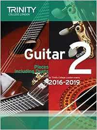Trinity College London: Guitar Exam Pieces Grade 2 2016-2019