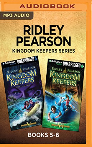 Ridley Pearson Kingdom Keepers Series: Books 5-6: Shell Game & Dark Passage (The Kingdom Keepers Series)