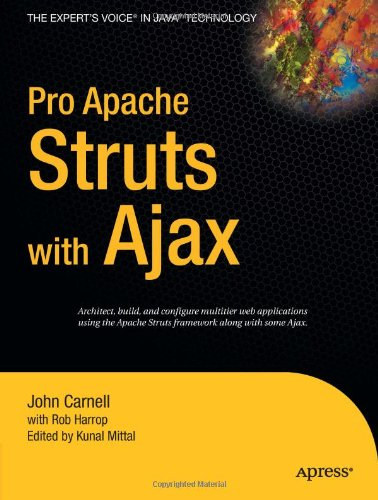 [PDF] Pro Apache Struts with Ajax Free Download | Publisher : Apress | Category : Computers & Internet | ISBN 10 : 1590597389 | ISBN 13 : 9781590597385