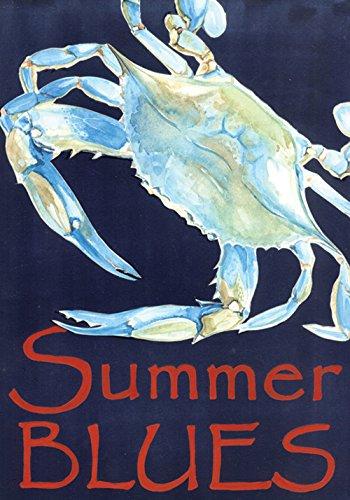 summer blues decorative blue crab