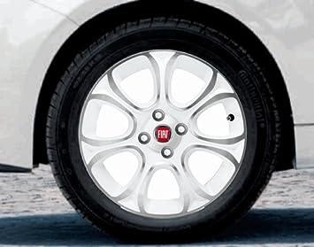 Original Fiat Grande Punto, Punto Evo Verano Completo juego de ruedas de 7 radios 16 Bridgestone (Acción): Amazon.es: Coche y moto