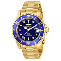Invicta Men's 8930OB Pro Diver Automatic Gold-Tone Bracelet Watch