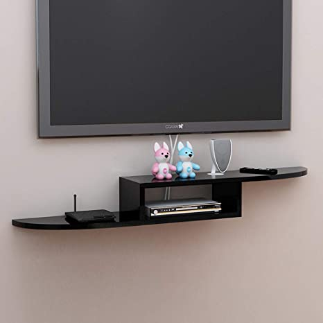 TV Rack Estante de Pared Estante Flotante Mueble de TV Montado en ...